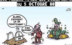 Commémoration des événements d'octobre 1988 : on ne peut pas tromper le peuple tout le temps