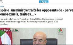 Honte à ces Algériens traîtres et pervers!